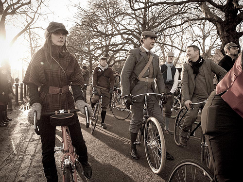 Bike Jax's First Annual Tweed Ride is this Sunday! (4/6)