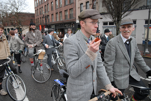 Bike Jax's First Annual Tweed Ride is this Sunday! (5/6)