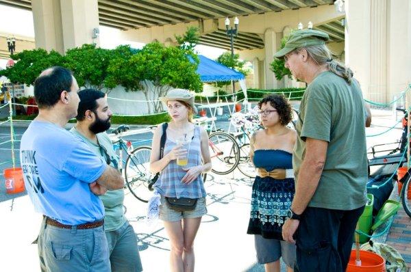The Bike Jax Bike Valet at RAM