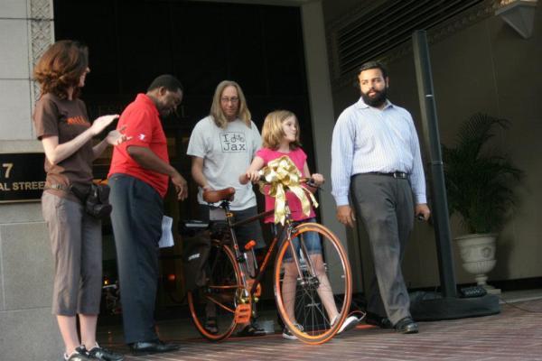 The Mayor Bike event